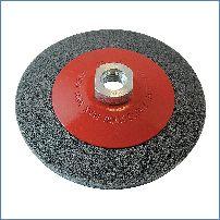 rot superweich Silverline Klett-Polierschaum 180 mm