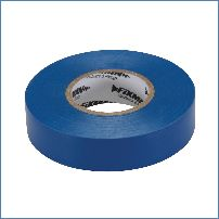 Fixman 187539 19 mm x 33 m, blau Isolierband
