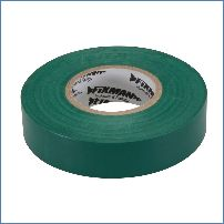 Fixman 188154 19 mm x 33 m, grün Isolierband