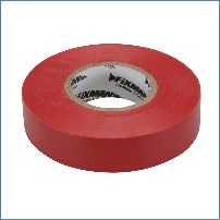 Fixman 191784 19 mm x 33 m, rot Isolierband