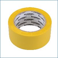 Fixman 192031 50 mm x 33 m, gelb Isolierband