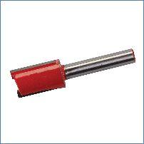 Silverline 1//4-Zoll-Nutfräser metrisch 6 x 20mm 593432