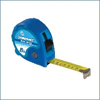 "Silverline 675242 8 m x 25 mm Rollbandmaß ""Measure Max"""